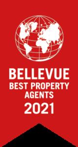 Ausgezeichnet von Bellevue Best Property Agent 2021